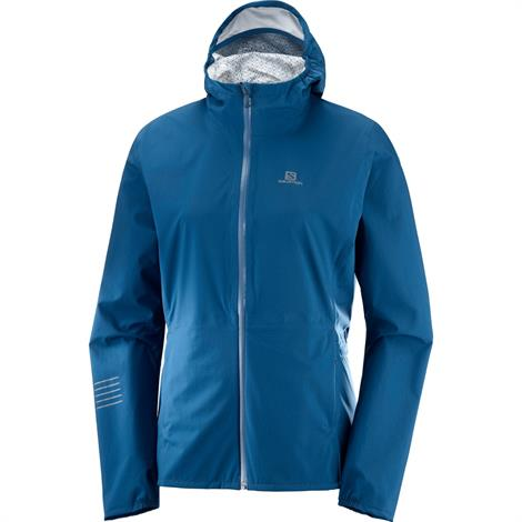 Image of   Salomon Lightning WP Jacket Womens, Poseidon