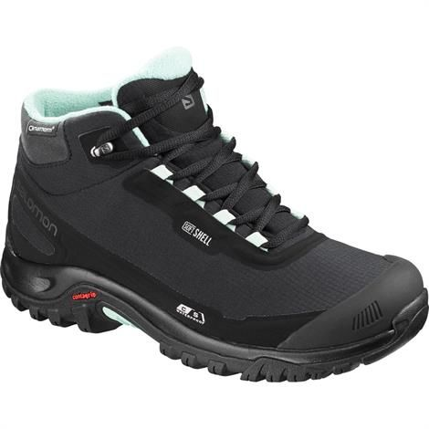 Image of   Salomon Shelter CS WP Womens, Black / Black