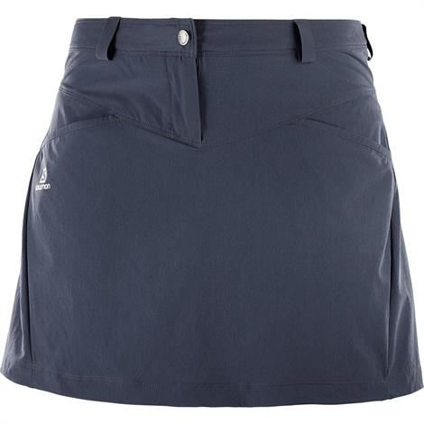 Image of   Salomon Wayfarer Skirt Womens, Graphite