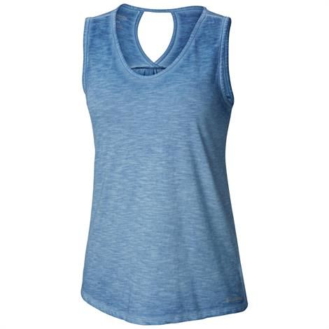 Image of   Columbia Elevated Tank Womens, Blue Dusk