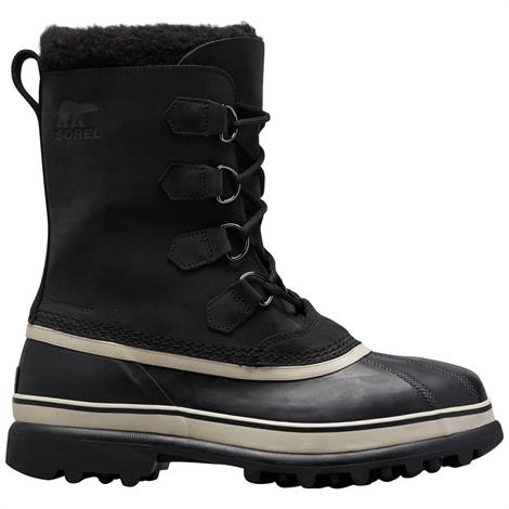Image of   Sorel Caribou Mens, Black / Dark Stone