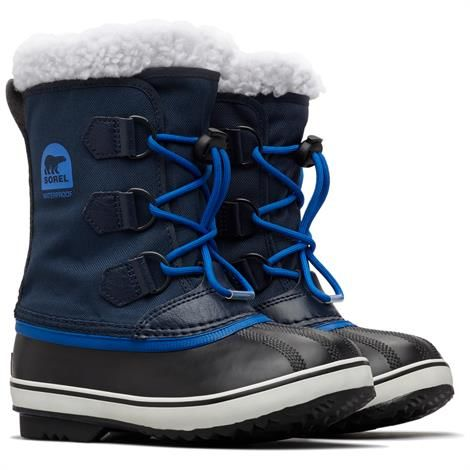 Image of   Sorel Yoot Pac Nylon Børn, Collegiate Navy / Super Blue