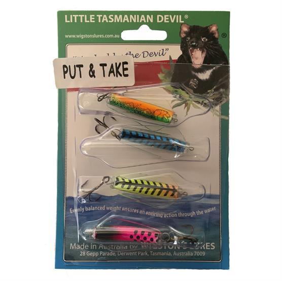 Tasmanian Devil - Mix Pakke, 7 Gram