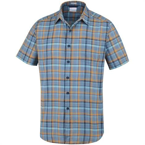 Image of   Columbia Under Exposure YD Short Sleeve Shirt Mens, Mountain