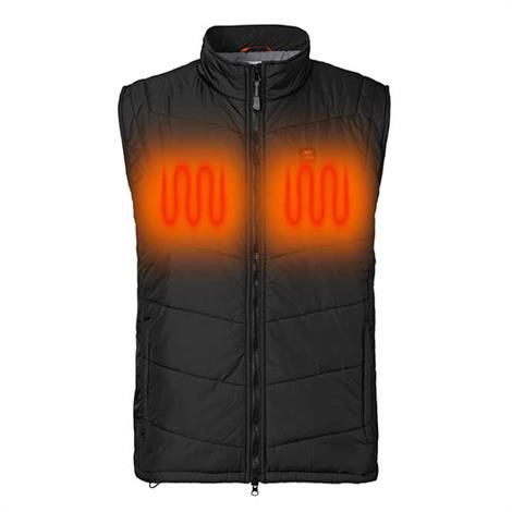 Image of   Nordic Heat Quiltet Thermo Vest, Black